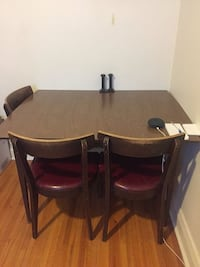 Brown wooden dining table Toronto, M4R 1A5