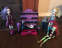 Monster High set with 3 Dolls Calgary, T2Z 4X8