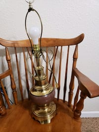 Brass lamp I have 2 avail.