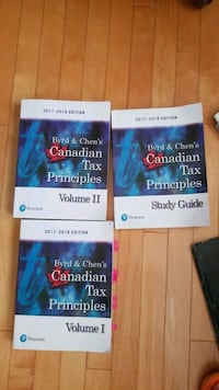 Tax books 2017 to 2018 for sale for all 3 Surrey, V3S 2S9