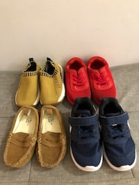 Baby/Toddler running shoes and loafers