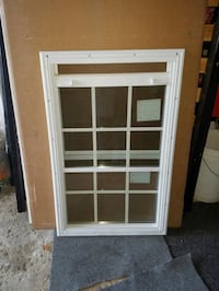 clear glass window with white wooden frame Brampton, L6V 4S2
