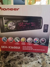 Pioneer stereo cd player with remote control