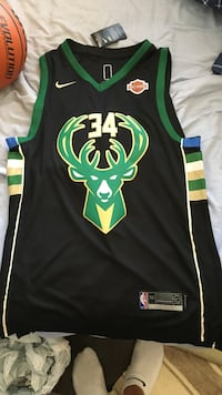 Giannis Antetokounmpo jersey never worn  Mississauga, L5M