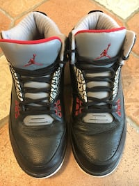 Air Jordan 2.5 Team Black Cement Sko Sandnes, 4306