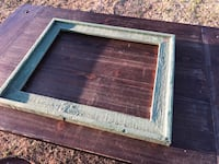 Rustic green frame for 16X20  Piedmont, 73078