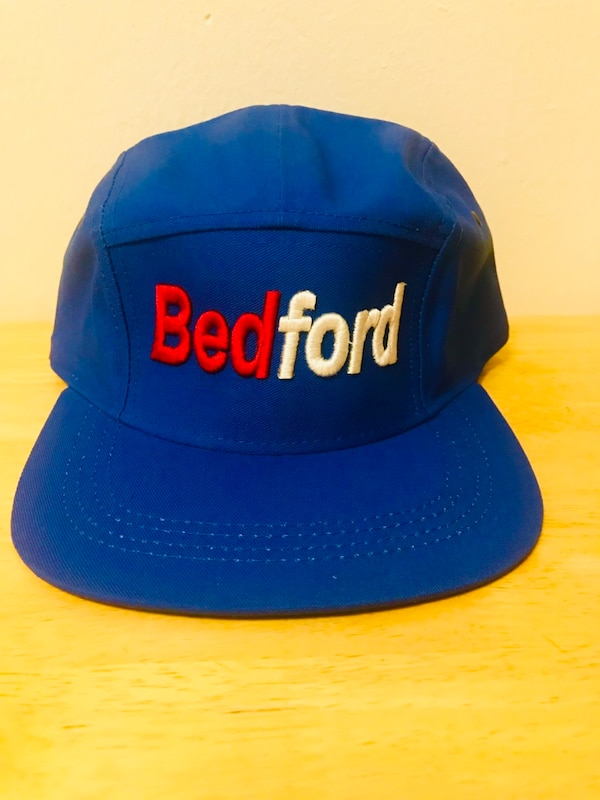 6a7e66b27d790 Used blue and yellow Supreme fitted cap for sale in New York - letgo