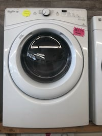 white front-load clothes washer 3561 km
