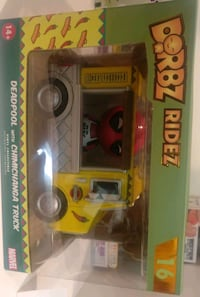 Funko pop dorbz ride deadpool chimichanga truck 549 km