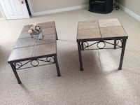 Coffee table with two end tables.  Tiled top Guelph/Eramosa, N0B