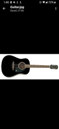 Epiphone Acoustic Guitar with case+ extras Brampton, L6P 1S8
