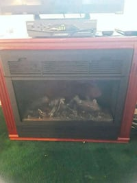 Amish fire place. Electric.  Great Condition