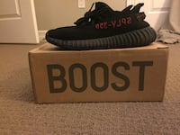 Authentic Yeezy 350 Boost Bred Sz 9.5