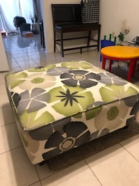 Ottoman for sale!! Moving today