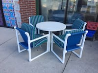 Patio table with four chairs  Davenport, 33837