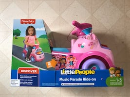 Fisher Price Musical Ride On Parade