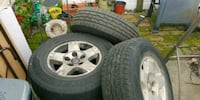 2005 dodge ram 1500 tires only 6 months old Tullytown, 19007