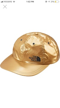 Supreme x the north face  gold hat  Markham, L3P 7P5