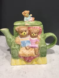 Bears in a chair Tea pot Framingham, 01701