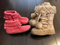 Baby girl shoes boots size 6 Cedar Park, 78613