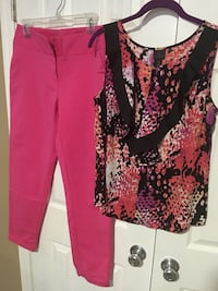 Pants size 8 , top Med  Excellent condition Harpers Ferry, 25425