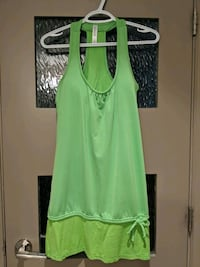 Lime green spandex/cotton dress size small Calgary, T2E 0B4