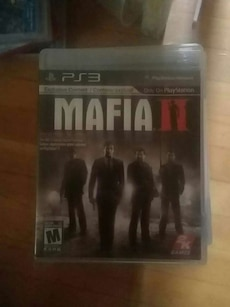 Mafia 2 PS3 game case