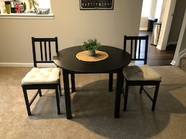 IKEA Table and Chairs with Cushions