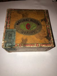 Cigar boxes (vintage) Garfield, 07026
