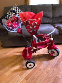 red and black push trike Cherry Hill, 08002