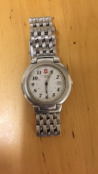 Stainless steel Swiss Army watch Los Angeles, 91423