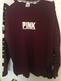 Burgundy PINK Women's Sweater.  Toronto, M1K 5J7