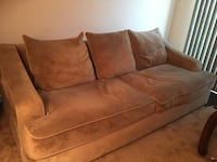 brown suede 2-seat sofa Chesapeake, 23320