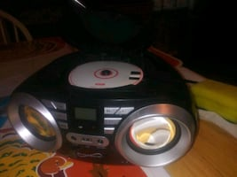 Fm. And cd player