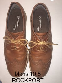 Mens ROCKPORT shoes 10.5 leather Smoke free Knox or Oak Ridge meet.   Knoxville, 37932
