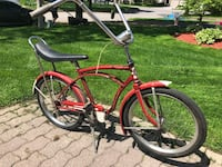Red and gray cruiser bike Ajax, L1T 1V8