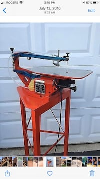 Hanger Scroll Saw Made In Germany Brampton, L6X