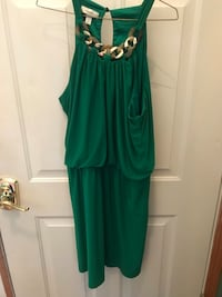 women's green sleeveless dress 557 mi