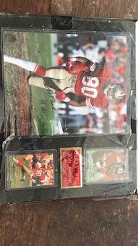 Sports Jerry Rice signed memorabilia with certificate Mooresville, 28115