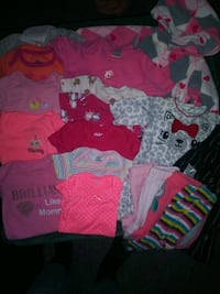 Baby girl clothing lot  (Newborn-3 mos)