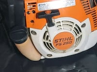 orange and white Stihl gas string trimmer Redwood City, 94063