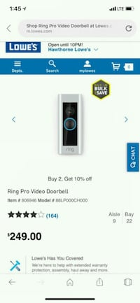 Ring doorbell Los Angeles