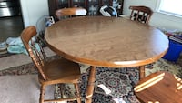 Elegant and beautiful cherrywood dining table cost with two chairs Norfolk, 23523