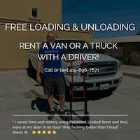 GET A TRUCK WITH A DRIVER & GET FREE LOADING & UNL Washington
