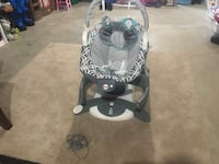 baby's gray and white cradle and swing Olathe, 66062