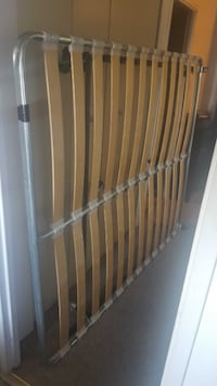 $30 - Queen size bed frame with slats Vancouver