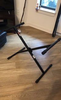 Piano stand adjustable