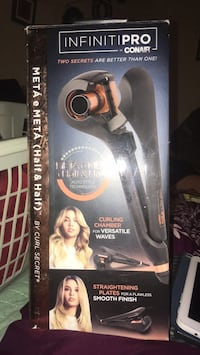 Infinite Pro curling and straightening