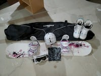 Women's Snowboard + Accessories Whitby, L1R 2H3