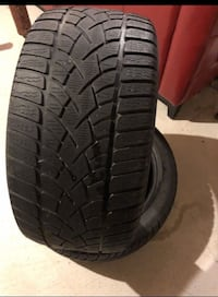 Set Of 2 Dunlop Winter Tires 245-40-R17 As to go 536 km